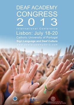 Deaf Academy 2013