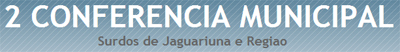 Conferência - Jaguariuna