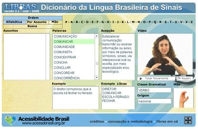 Dicionário da Libras