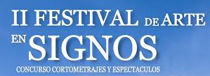 II Festival de Arte en Signos - Logo