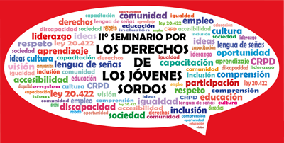 Seminario - Derechos de los jóvenes sordos