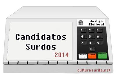 Candidatos Surdos 2014