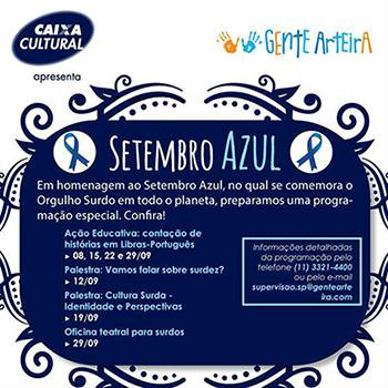 Caixa Cultural - Setembro Azul