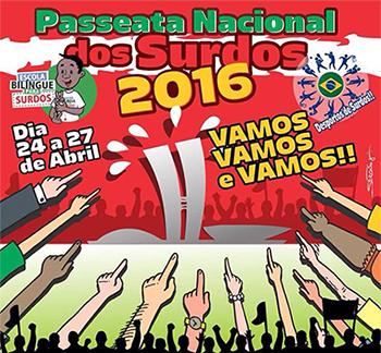 Passeata Nacional dos Surdos - 2016 II