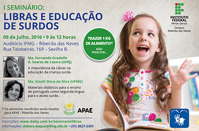 I Seminário Libras - IFMG