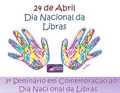Açaí com Libras - Dia Nacional da Libras
