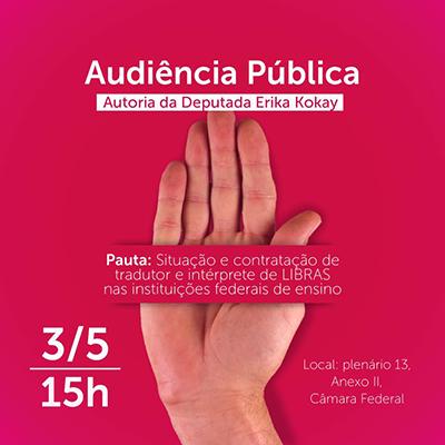 Audiência Pública - DF